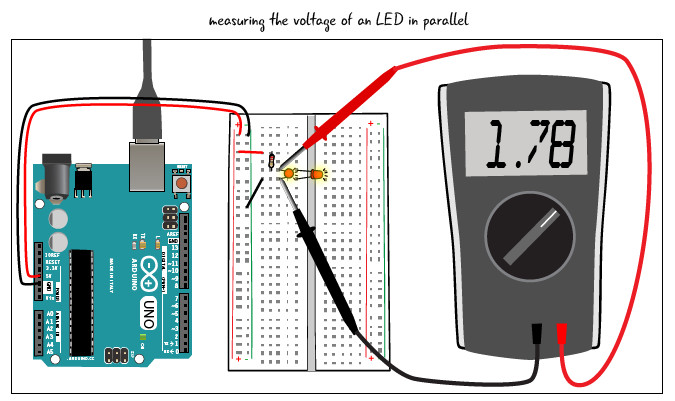 Chapter 4: Components in parallel and series | Arduino to Go